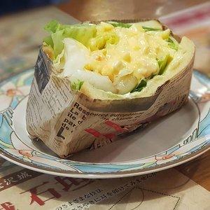 Love the sandwiches in Japan. Egg Mayo sandwich from a cosy cafe in Kanazawa.  #clozette #foodspotting #iweeklyfood #fooddaddict #foodgasm #foodpic #sginsta #sgeats #foodshare #nomnom #igersgs #foodporn #yummy #foodsg #burpple #sgfood #sgfoodbloggers #sgfoodies #igfoodies #kanazawa #ishikawa #japanesefood #sandwich