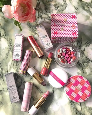 Pretty in pink blooms from @lancomeofficial 🌸 🌸 🌸 When you start living the life of your dreams, there will always be obstacles and setbacks along the way. But I'm not done yet. xoxoRomana • •  #MyRomana #MyRomanaLancome #clozette #LancomeMy #makeupcollection  #makeuplover #instabeauty #instablogger #igmakeup #over50lifestyle #over50beauty #pink #discoverunder100k #flatlaystyle #beautycommunity