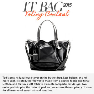 TOD'S | Flower Zip Media Tote