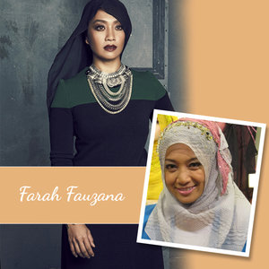 Farah Fauzana: More widely known as Realfafau, Farah Fauzana is a popular radio announcer & TV host in Malaysia.
