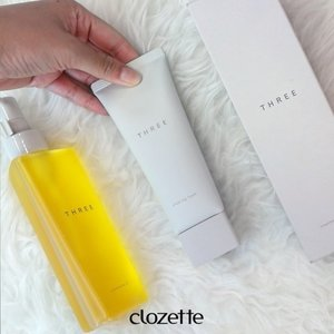 Make your skincare routine simpler with @threecosmetics' skin bundle! Watch our video and see the trio of THREE Cleansing Oil, THREE Cleansing Foam, and THREE Treatment Lotion in action. #Clozette #UnboxingClozette #ClozetteVideos