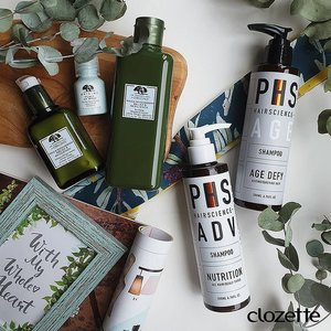 Feeling fatigued after a long day at work? Rejuvenate with a refreshing beauty routine! Here are our quick pick-me-up essentials: Double Cleanse set from PHS Hairscience and Dr. Andrew Weil For Origins Mega-Mushroom Relief & Resilience range. What's yours? #Clozette #ClozetteSHOTS #DiscoverOrigins #phshairscience