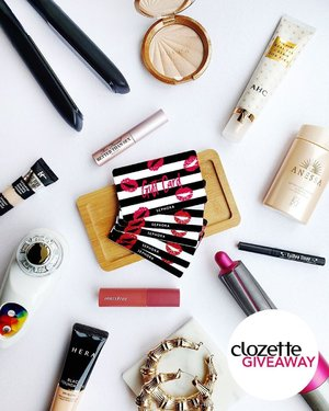 #ClozetteGiveaways: What's your ultimate beauty saviour? Share your beauty heroes with us and stand a chance to win Sephora Beauty Vouchers worth SGD30/MYR120/PHP1500. Thirty winners will be chosen!  All you need to do is: 1. FOLLOW @clozetteco on Instagram, 2. COMMENT your favourite beauty pick on any 1 of 4 Clozette Beauty Heroes category posts (links to the posts are in our bio). *Giveaway is open to residents of Singapore, Malaysia and the Philippines. #Clozette