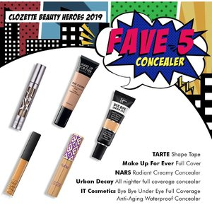 #ClozetteBeautyHeroes2019: New week, new round of #TeamClozette's top 5 faves. This time, we're putting the spotlight on our favourite makeup products. From foundations and brow kits to blushers and lippies, tap the link in our bio to find out why these picks deserve a spot in our makeup kit.  Plus, stand a chance to WIN Sephora Beauty Vouchers! All you have to do is tell us in the comments which of our top picks is your favourite. Or if your fave is not on our list, tell us what your all-time favourite makeup product is.  This giveaway is open to residents of Singapore, Malaysia and the Philippines. More of our faves are coming (means more chances of winning) so stay tuned! #Clozette