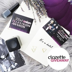 #ClozetteGIVEAWAYS: Ready to celebrate Asian TV and meet the stars? We are giving away 5 pairs of tickets to the 22nd Asian Television Awards, happening on 1st December at Suntec Singapore!  To WIN a pair of tickets (worth SGD200), all you have to do is: 1) FOLLOW @clozetteco on Instagram 2) LIKE this photo 3) Leave a COMMENT and tell us: Who is your favourite Asian TV actor/actress this year? *Giveaway runs from 20 November - 26 November 2017 (11:59PM), only open to residents of Singapore.  #CelebratingAsianTV #Clozette
