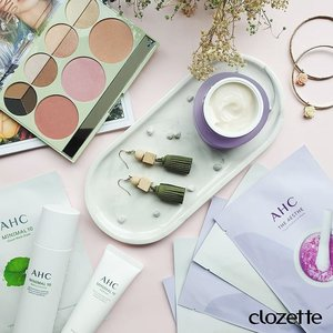 Today, we're going for that ethereal aesthetic with @ahc.official's new skincare range and @pixibeauty Palette Chloette featuring @chloemorello's favourite hues! #Clozette #ClozetteSHOTS #AHCBeauty #PixiPretty