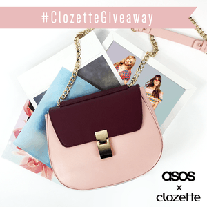 Want to WIN a leather saddle bag from ASOS? We have 5 up for grabs! Here's what you have to do! 1) Be a member of Clozette.co 2) Like this photo 3) Leave a comment by answering this simple question: