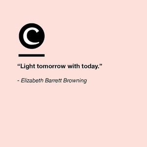 Today is an opportunity to make tomorrow better. #Clozette #ClozetteQuotes