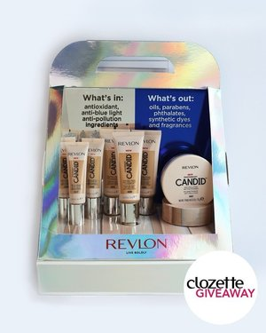 #ClozetteGiveaways: Look naturally flawless and don't be afraid to put your best face forward!  Three sets of PhotoReady Candid Collection in different shades worth SGD172 each are up for grabs for three lucky winners.  All you have to do is:  1. Follow @clozetteco and @revlonsg,  2. Like this photo,  3. Tag a friend!  The giveaway will run from today till 22 May and is open to residents of Singapore only. #Clozette