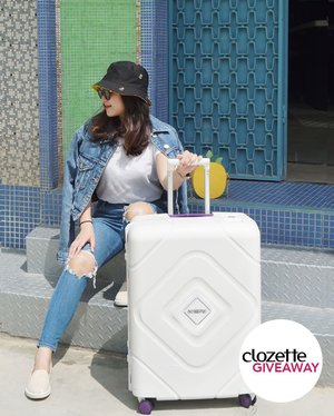 #ClozetteGiveaways: Travelling soon? We have one (1) #AmericanTouristerSG TRIGARD suitcase (worth approx. SGD290/MYR880/PHP11,000) to give away! Going beyond being insta-worthy, this stylish luggage is scratch-resistant and extra secure with its XtraSecu™ 3 Point Lock system.  Here's all you need to do: 1. FOLLOW @clozetteco on Instagram, 2. LIKE this photo, 3. COMMENT and tell us where is your next dream destination and what you would like to bring back from the trip. 4. TAG a friend to follow us!  Giveaway runs from now till 20 July 2019 (11:59PM), and is open to residents in Singapore, Malaysia, and the Philippines.  #Clozette #BringBackMore #ATNewYou