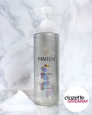 #ClozetteGiveaways: Your hair needs extra care. That's why it needs charcoal — really. Discover the effective yet gentle cleansing power of the Pantene Micellar Charcoal range. Get a chance to win a set of Pantene Micellar Scalp Shampoo and Pantene Micellar Nourishing Shampoo, simply by doing the following:  1. FOLLOW @clozetteco, 2. LIKE this photo, 3. TAG two (2) friends and tell them why they need charcoal in their haircare.  The giveaway runs from 13 to 27 September and is open to residents of Malaysia only. #Clozette