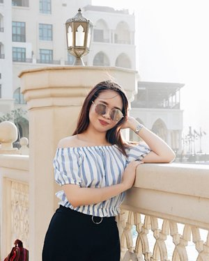 The comeback is always stronger than the setback ⚓️🦋 #clozette #ootd #travel #dubaifashion