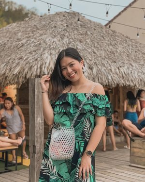 So in love with this beaded bag from @beadingheartsph 💚 Perfect accessory to complete my summer outfit . 😊 #clozette #PatrishWears
