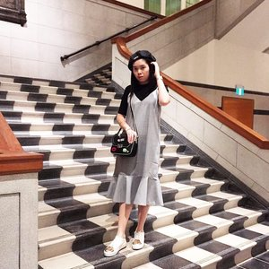 Of marble and stairs. #clozette #stylexstyle
