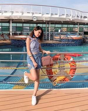 """// """"I've come to realise that the only people I need in my life are the ones who need me in theirs even when I have nothing else to offer them but myself."""" . . . #royalcaribbean #charleskeith #zalora #clozette"""