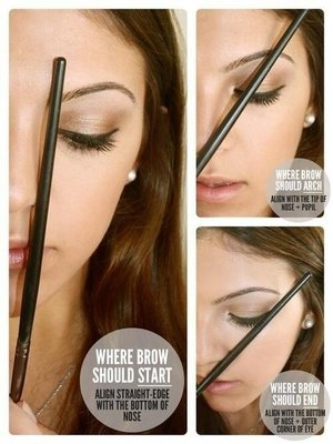 For your eyebrows