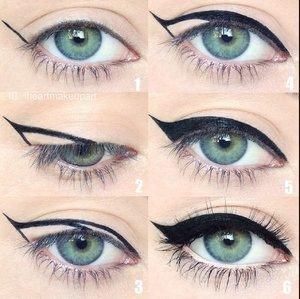 Cat eye wing
