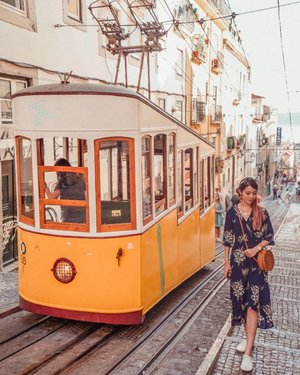 Part of the relaunch of a brand which was founded by an explorer, I've been asked to share my favourite place in the world with you! . I picked a shot of my trip to Portugal, taken with the iconic Portuguese trams that are only found in older parts of the city, ie the Alfama. I have always wanted to visit Portugal because of their rich history and culture, and every city in Portugal has much variety to offer: the different types of architecture, art (Azulejos tile art), labyrinth of narrow cobblestone streets and etc. I feel like I didn't spend enough time there and hope to return one day! What's your favourite travel designation? . #BornCuriousGrownWild #AD #beautiful #travelphotography #curious #explorer #exciting #memorable #travel #favourite #igsg #sgig #sgfaves #EstherwandersxPortugal