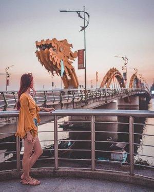 Nothing much, just wanted to show you my Chinese zodiac sign 🙊 . #Estherwanders #EstherwandersxVietnam #Danang #danangdragonbridge #Vietnam