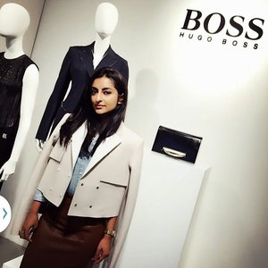 Just know that short structured jackets like this one from Hugo Boss are going to be a thing. #regram from @clozetteco #igsg #sgig #clozette #throwback #tbt #fashion #lookbook #stylediaries