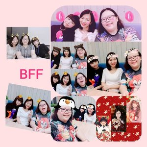 One of the things I'm blessed with is having colleagues becoming your BFFs. Thanks for all the good memories in 2018. Thanks for always having my back and just being there. Truly blessed! May ee shine and be blessed with happiness with all the good stuff in 2019. Let's make more memories next year! #blessed #gems #bffs #workbuddy #clozettedaily #clozette #bestie #thankful