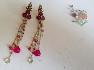 thsese are my fav earrings #helenamarini brand