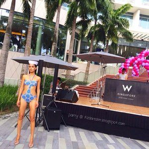 #GET2GETHER @wsingapore with @kbluswim! Its time for #Party! #wsingapore #wsingaporesentosacove #whotelsg #whotel @spg #spglife @starwoodbuzz #kblu #kbluswim #fashion #fashionsg #fashionblog #fashionbloggers #clozette #fashionshow #EndlessSummer