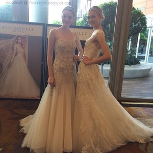 Whimsical #wedding gowns from Belle & Tulle at Destination #Weddings by @styleweddings! #styleweddings #instablog #instadaily #instaweddings #clozette #fashion #fashionbloggers #fashionblog #sgblog #sgbloggers @whotels @wsingapore #wsentosa #WSentosaCove #wsingapore @whotels