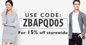 I'm sharing this 15% off to you all. Go at zalora.com to shop. I hope you enjoy them! #women #men #fashion #womensfashion #womenswear
