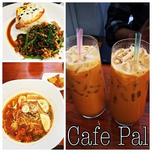 Tried Thai Milk Tea @ Cafe Pal and tbh, quite costly yet the taste really remind me of BKK. #cafepal #imissbangkok #clozette
