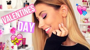 Valentine's Day Makeup Tutorial ♡ - YouTube