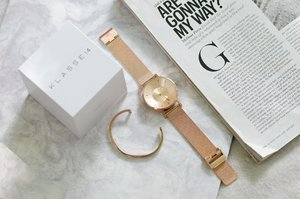 This luxurious classic mesh rose gold timepiece by @Klasse14 is designed perfectly to dress your wrist with an outstanding elegance ✨ — Treat yourself or a loved one with #Klasse14 watches! Use my code