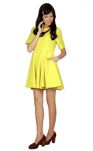 We have always been a fan of the color yellow! And that is why we love our outfit!