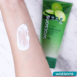 Skincare is really important for me but I also believe that it does not have to break your bank. 😊 Today I am talking about Gel Body Scrub in Cucumber & Aloe Vera by @WatsonsMy on my blog so do check out the link in bio to read the review post.⠀ ⠀ This body scrub comes in a few variations and I bought two for myself a while back. Currently, they are for sale for RM 10.50 at @WatsonsMy so do check that out as well.⠀ ⠀ And do let me know in comments if you like to use body scrubs in routine or are thinking about starting to use them.⠀ ⠀ #SahrishAdeel @SahrishAdeel #WatsonsMalaysia #WatsonsMYBeauty #BeautyMyWay #WatsonsRewards #MembersGetMore #OnlyAtWatsons #WatsonsBrand #WatsonsBodyCare #NotSponsored #SelfPurchased ⠀