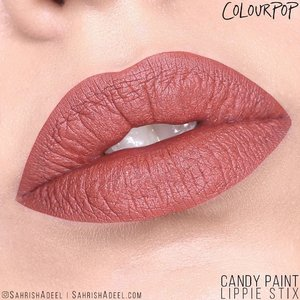 Candy Paint by @colourpopcosmetics is one of my favorite shades in Lippie Stix. ❤️ What about you? I have a very detailed blog post up with lip & arm swatches and honest reviews on all three finishes of Lippie Stix 😲 Do check the link in the bio because you DO want to read that to know some interesting things about these Lippie Stix. Plus, I have worked hard on this post. 😘⁣⠀⠀ ⁣⠀⠀ #SahrishAdeel #NotSponsored #ColourPop #ColourPopCosmetics #ColourPopme #CrueltyFree #CandyPaint⠀ ⠀
