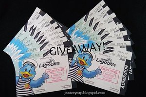 GIVEAWAY TIME! I am giving away 10 PAIRS of Sunway Lagoon passes to 10 lucky readers! Deets here to know how you can win yourself a pair: http://bit.ly/1jedFks#hugsnkissesgiveaway #sunwaylagoonmy #clozette #ClozetteAmbassador #malaysianblogger