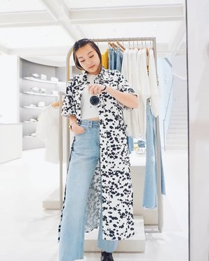 Styled in #urbanrevivosg's FW19 collection and I quite like the dalmation print? 🐾 . . #clozette