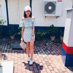 Nothing much lately so shall just do a throwback to the days in Malacca. P.S: I love this 🐏🐏 dress!