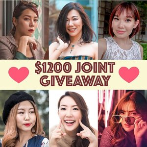 💖💖 JOINT GIVEAWAY! 🥳🥳 Together with my babes, we've curated these lovely goodies to bless you, yay! 🎁 x . To take part in our giveaway, make sure you complete all the steps below! 💕 Follow all 6 of our accounts  @estherksz @qiyunz @vinvola @Sodapopp @jacelynphang @melissajaneferosha . 💕 Tag a friend in a comment below. One comment represents 1 entry. You may tag and comment as many times as you wish on all of our accounts to increase your chances of winning. . 💕 Repost this on your Insta-stories and tag all 6 of us for an extra chance to win!  x 6 winners will be randomly picked. This giveaway is open to SG local readers only and ends 16 July 2019. Good luck! 😊