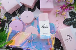 New product from one of my favourite brand - @altheakorea !! 😍 After they've launched their skincare line called #BareEssential, a series of face powder called #PetalVelvet (the 3 round thing from the 1st pic), now they have a new Sunscreen called Petal Velvet Sunaway!  Just like it's name, the PV Sunaway is a product that gives you a lightweight & Petal-like velvety finish just like all the Petal Velvet Powder! It contains Damask Rose & Micro Particles that helps to moisturise and controls sebum at the same time.  Besides, this sunscreen has SPF 50+ PA++++ (yes there's 4 plus sign) that gives you extra protection from the harmful UV Rays! Best to use everyday and any occasion!  Not forgetting to mention, look how cute their products are! And the Holographic pouch is to die for! 💕😍 The Petal Velvet Sunaway is now available in http://althea.kr and it's offering 10% discount at the price of only MYR38.70 at the moment! Check out @altheakorea for more offers! #altheaangels #altheakorea