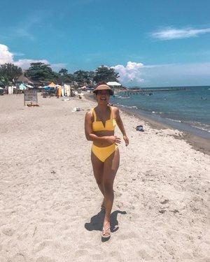 T minus 2 hours until I'm back running on the beach 🏝 Sans the bulky tita visor though! Best purchase so far but don't know how to pack that thing lol 😆 Sea you soon, #Malapascua! 👙 by @islaswimph. — #clozette #clozetteco #stylesurgeryblog #bloggersph #beach #beachtrip #weekend #cebu #filipina #islandlife #islandgirl #explore #adventure #beachbum #swimwearph #morena #proudmorena
