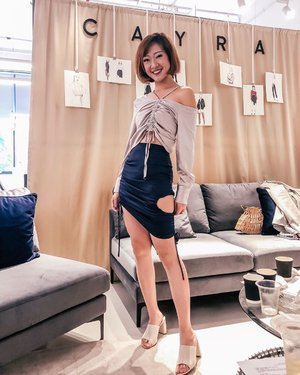thanks @cayra.official for dressing me up in this power outfit. to my @clozetteco #ClozetteAmbassadors, thank you for the fun afternoon of #ClozetteCHATS! (📷: @glammama.sg) ::: ::: #clozette #ootd #lookbooksg #igsg #sgblogger #stylediaries #potd #stylexstyle #picoftheday #ootdfash #photooftheday #photodaily #fashion