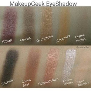 #makeupgeek  #eyeshadowswatches  #makeupgeekcosmetics  #clozette