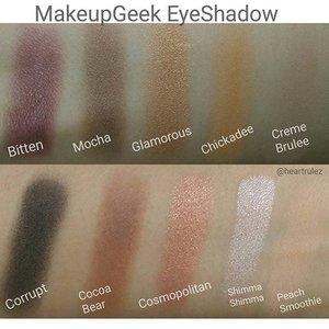 #makeupgeek  #eyeshadowswatches  #makeupgeekcosmetics  #clozette