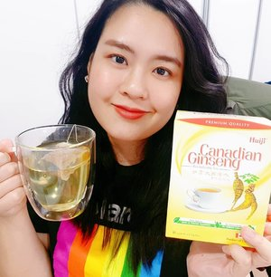 Oh hey! Huiji's ginseng tea IG vid review, coming soon~ 😉  #ginsengtea
