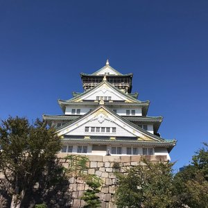 Beautiful sunny day at Osaka Castle #nofilter #clozette #cooljapan #cooljp