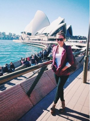 City tour in Sydney opera house! comfort will always be my priority when choosing what to wear!