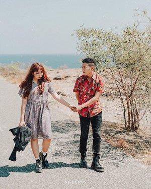 I knew you are the one, when you walked into my chaos and never left. ~ . . 📷 @sheerss_id @zakhrihrp  #sheersshari . . . . . . . #clozette #clozetteid #portrait #travel #sumba #exploresumba #lifestyle #wonderfulindonesia #ntt #sumbatimur #teotfw #preweddingsumba #sumbaprewedding #thebrideideas #thebridestory #thebridebestfriend
