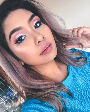 Decided to amp up a look I did a couple of days ago with an affordable palette and you guys, I AM SO SHOOK! 💙 . Like besides loving the color story of pink and blue; I feel like this palette definitely needs a dedicated mention; so a new video will be dropping on YouTube soon 🎥 . Till then, try and take a guess at the brand; and no worries will give you a hint first - *its drugstore* 👏🏼😉 . #tryingnewthings #affordablemakeup #drugstoremakeup #makeuptutorial #beauty #makeup #underratedmuas  #undiscovered_muas #makeupartistsworldwide #instabeeyou #instabeauty #wakeupandmakeup #makeupobsessed #makeupartist #makeuplooks #makeuplife #fiercesociety #favfulfeatures #makeup2019 #clozette #penmyblogmakeup