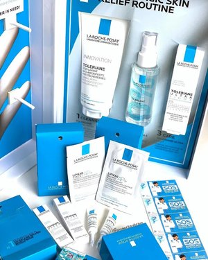 [NEW] Say hello to La Roche Posay Toleriane Ultra Serum Mist!... ‼️FIRST serum mist that soothes skin discomforts while delivering instant hydration to all skin types... 👉🏻Share with me your sensitive skin story here or via PM & I'll mail you an Allergic Skin Relief Kit! (5 lucky winners only!).. ⭐️Inside each kit contains 2 Toleriane Ultra Intense Soothing Fluid for Face & Eyes together with Lipikar Baume, a Lipid Replenishing Balm for Anti-Irritation Anti-Scratching - Even can be used for Newborns!